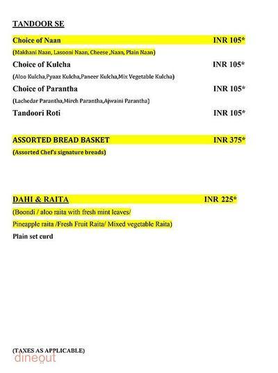 Tatva - Country Inn & Suites By Carlson, Sahibabad Menu 5