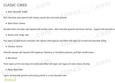 ChocTales Menu 3