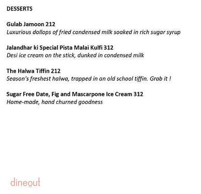 Level 12 - DoubleTree By Hilton Menu 6