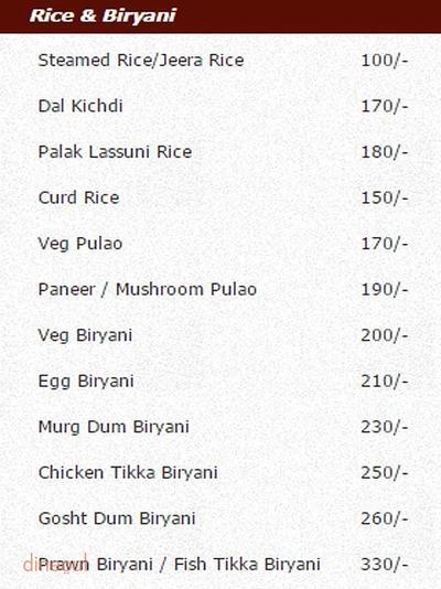 Punjabi Spice Menu 8
