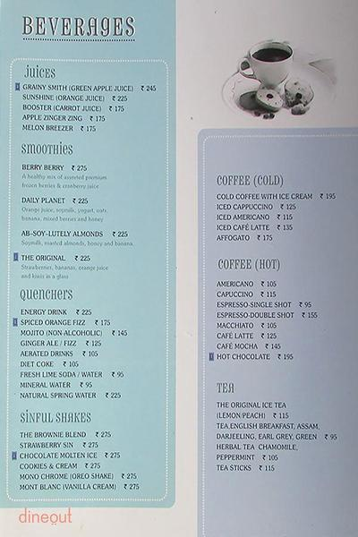 The Blue Door Cafe Menu 6