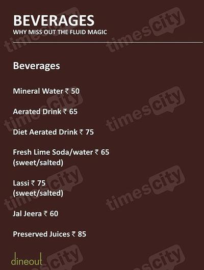 Muraqqa - The Indian Restaurant Menu 15